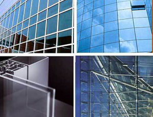 exterior and interior glass works